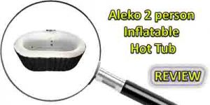 Aleko 2 Person Inflatable Hot Tub