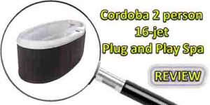 QCA Cordoba 16 jet plug and play hot tub