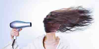 Sauna effect on hair